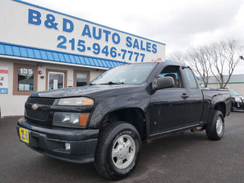 2008 Chevrolet Colorado for sale at B & D Auto Sales Inc. in Fairless Hills PA