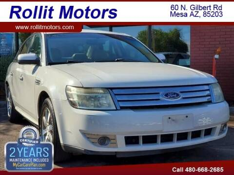 2009 Ford Taurus for sale at Rollit Motors in Mesa AZ