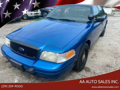 2008 Ford Crown Victoria for sale at AA Auto Sales Inc. in Gary IN