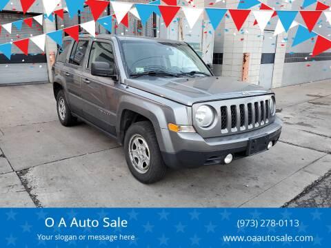 2014 Jeep Patriot for sale at O A Auto Sale in Paterson NJ