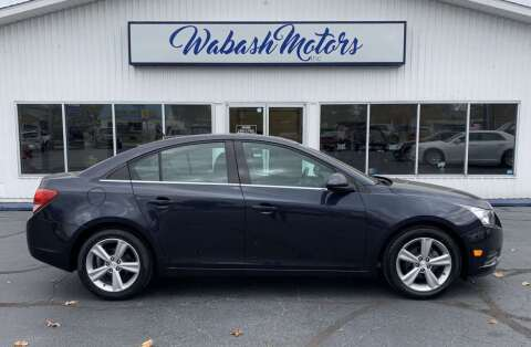 2014 Chevrolet Cruze for sale at Wabash Motors in Terre Haute IN