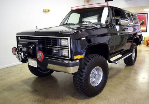 1984 Chevrolet Blazer for sale at Thoroughbred Motors in Wellington FL
