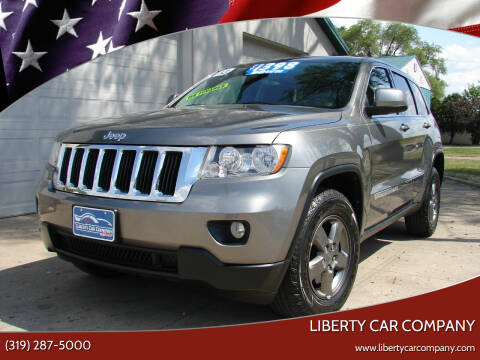 2013 Jeep Grand Cherokee for sale at Liberty Car Company - II in Waterloo IA