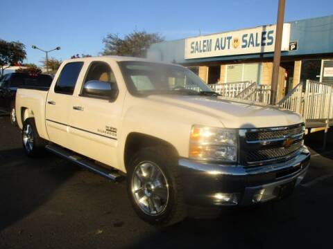 2013 Chevrolet Silverado 1500 for sale at Salem Auto Sales in Sacramento CA