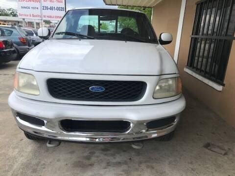 1997 Ford F-150 for sale at Eastside Auto Brokers LLC in Fort Myers FL