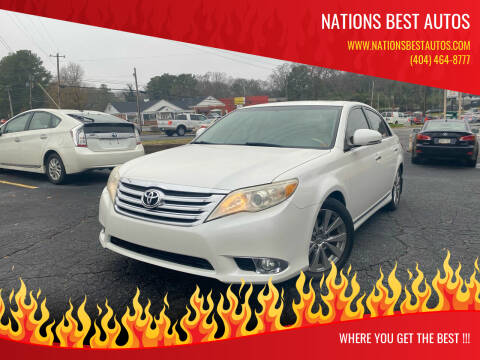 2011 Toyota Avalon for sale at Nations Best Autos in Decatur GA