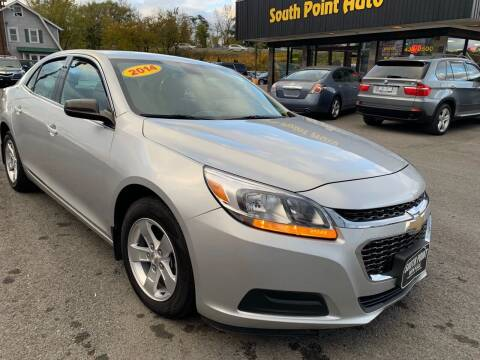 2014 Chevrolet Malibu for sale at South Point Auto Plaza, Inc. in Albany NY