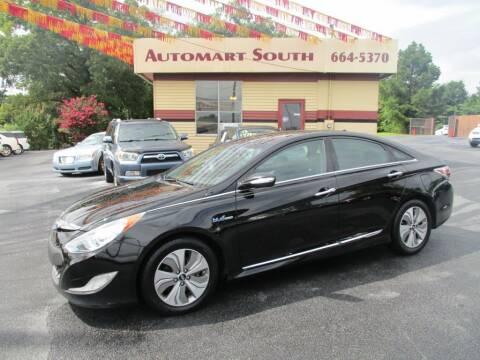 2015 Hyundai Sonata Hybrid for sale at Automart South in Alabaster AL