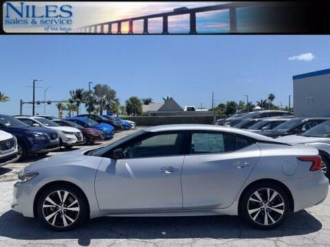 2017 Nissan Maxima for sale at Niles Sales and Service in Key West FL