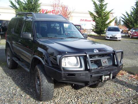 2002 Nissan Xterra for sale at M & M Auto Sales LLc in Olympia WA