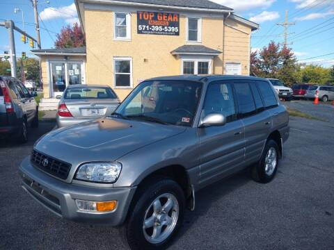 1999 Toyota RAV4 for sale at Top Gear Motors in Winchester VA