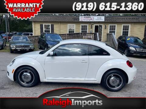 2012 Volkswagen Beetle for sale at Raleigh Imports in Raleigh NC
