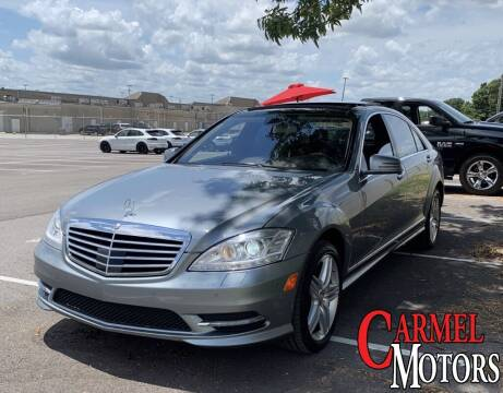 2013 Mercedes-Benz S-Class for sale at Carmel Motors in Indianapolis IN