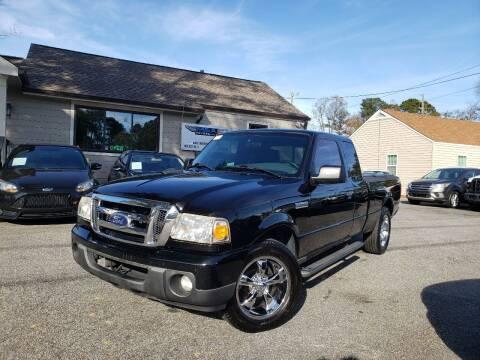 2010 Ford Ranger for sale at M & A Motors LLC in Marietta GA