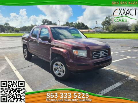 2007 Honda Ridgeline for sale at Exxact Cars in Lakeland FL