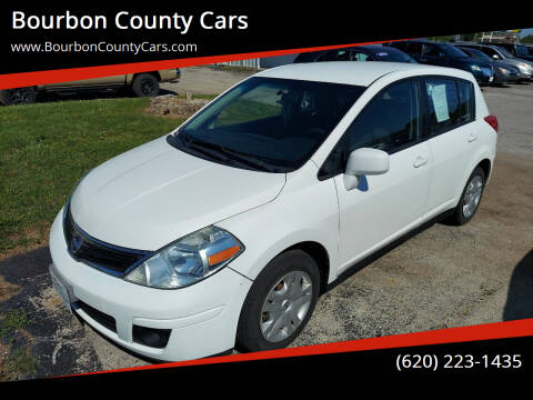 2011 Nissan Versa for sale at Bourbon County Cars in Fort Scott KS