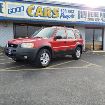2001 Ford Escape for sale at Good Cars 4 Nice People in Omaha NE