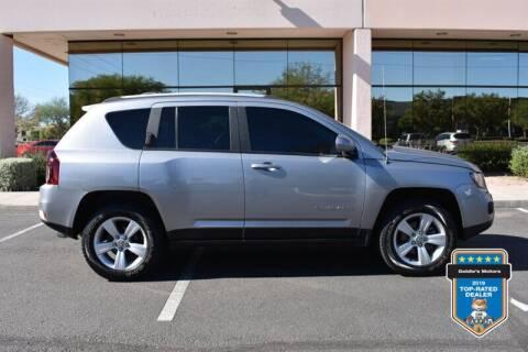 2017 Jeep Compass for sale at GOLDIES MOTORS in Phoenix AZ