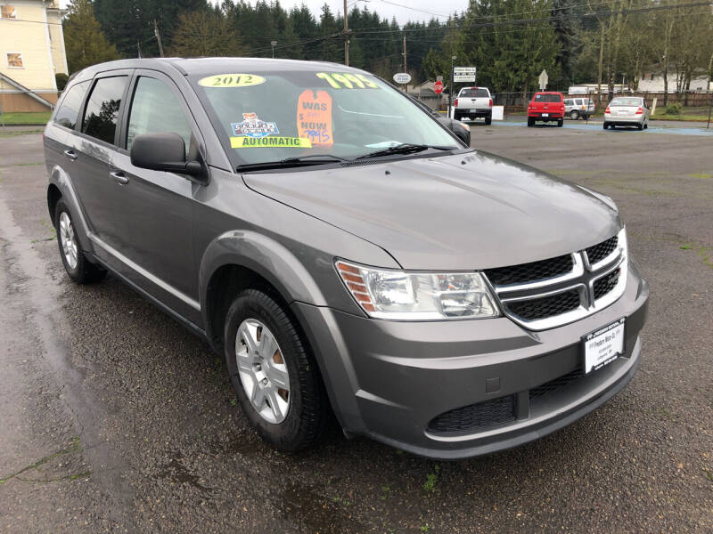 2012 Dodge Journey for sale at Freeborn Motors in Lafayette, OR