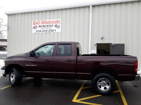 2004 Dodge Ram Pickup 1500 for sale at C & C Wholesale in Cleveland OH