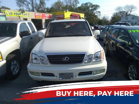 2001 Lexus LX 470 for sale at Marino's Auto Sales in Laurel DE