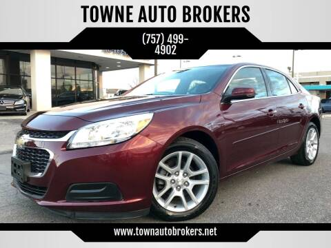 2016 Chevrolet Malibu Limited for sale at TOWNE AUTO BROKERS in Virginia Beach VA