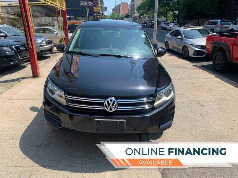 2013 Volkswagen Tiguan for sale at Raceway Motors Inc in Brooklyn NY