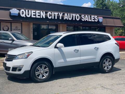 2016 Chevrolet Traverse for sale at Queen City Auto Sales in Charlotte NC