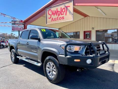 2017 Toyota Tacoma for sale at Sandlot Autos in Tyler TX