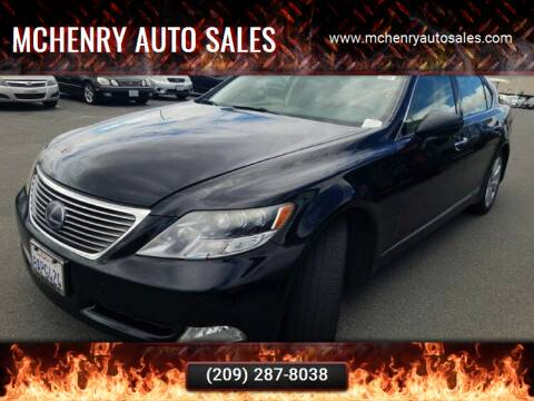 2009 Lexus LS 600h L for sale at MCHENRY AUTO SALES in Modesto CA
