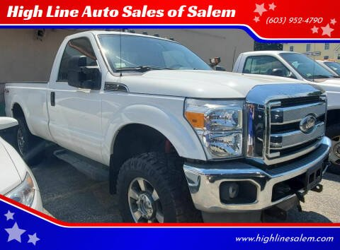 2011 Ford F-350 Super Duty for sale at High Line Auto Sales of Salem in Salem NH