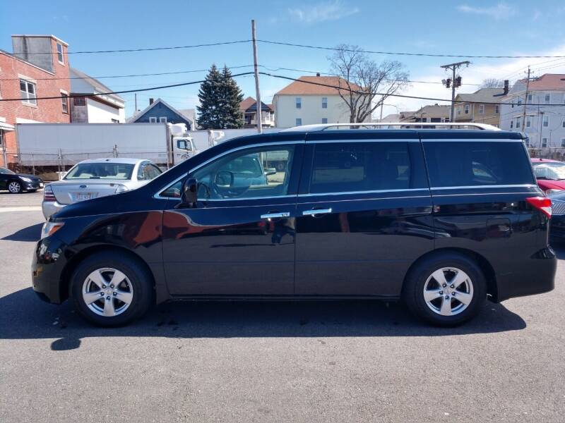 2013 Nissan Quest for sale at A J Auto Sales in Fall River MA