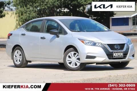 2020 Nissan Versa for sale at Kiefer Kia in Eugene OR