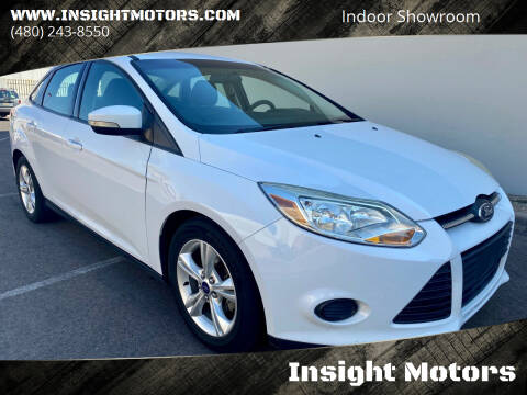 2014 Ford Focus for sale at Insight Motors in Tempe AZ