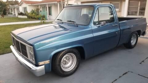 1984 GMC Sierra 1500HD Classic for sale at Classic Car Deals in Cadillac MI