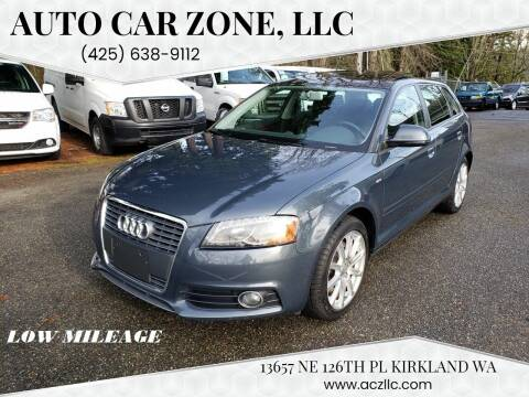 2010 Audi A3 for sale at Auto Car Zone, LLC in Kirkland WA