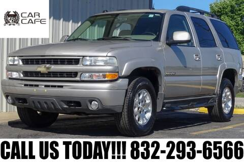 2005 Chevrolet Tahoe for sale at CAR CAFE LLC in Houston TX