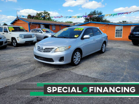 2013 Toyota Corolla for sale at GP Auto Connection Group in Haines City FL