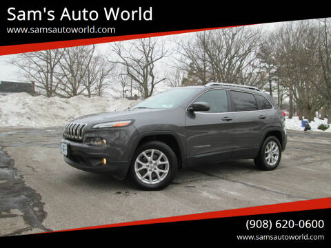 2014 Jeep Cherokee for sale at Sam's Auto World in Roselle NJ