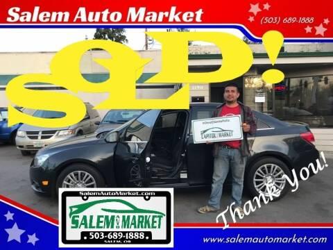 2011 Chevrolet Cruze for sale at Salem Auto Market in Salem OR