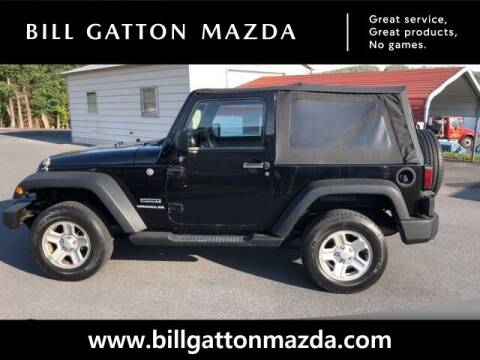 2012 Jeep Wrangler for sale at Bill Gatton Used Cars - BILL GATTON ACURA MAZDA in Johnson City TN