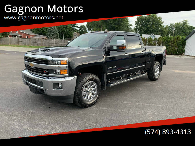 2017 Chevrolet Silverado 3500HD for sale at Gagnon  Motors - Gagnon Motors in Akron IN