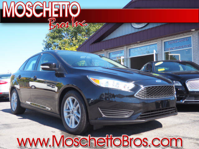 2018 Ford Focus for sale at Moschetto Bros. Inc in Methuen MA