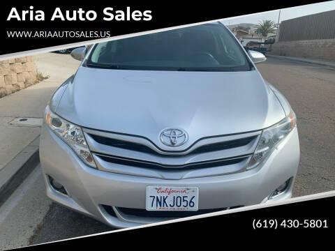 2013 Toyota Venza for sale at Aria Auto Sales in El Cajon CA