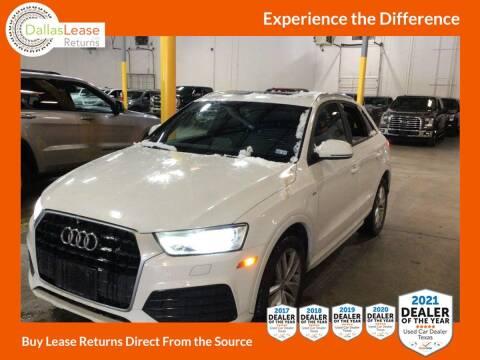 2018 Audi Q3 for sale at Dallas Auto Finance in Dallas TX