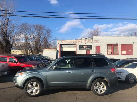 2010 Subaru Forester for sale at Dan's Auto Sales and Repair LLC in East Hartford CT