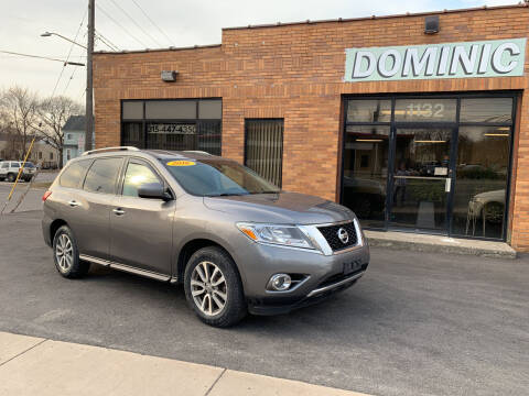 2016 Nissan Pathfinder for sale at Dominic Sales LTD in Syracuse NY