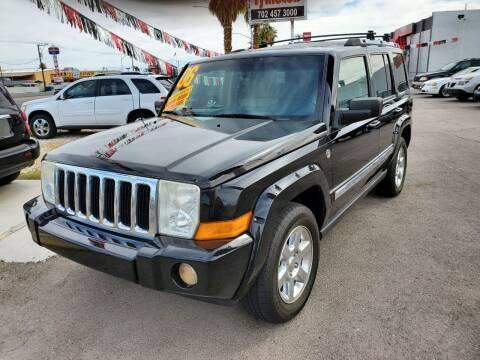 2006 Jeep Commander for sale at TJ Motors in Las Vegas NV