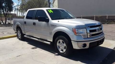 2014 Ford F-150 for sale at CAMEL MOTORS in Tucson AZ