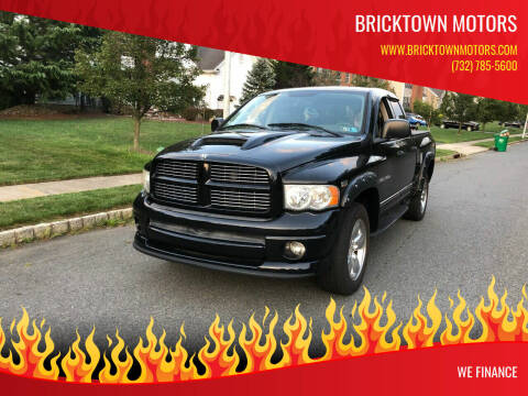 2005 Dodge Ram Pickup 1500 for sale at Bricktown Motors in Brick NJ